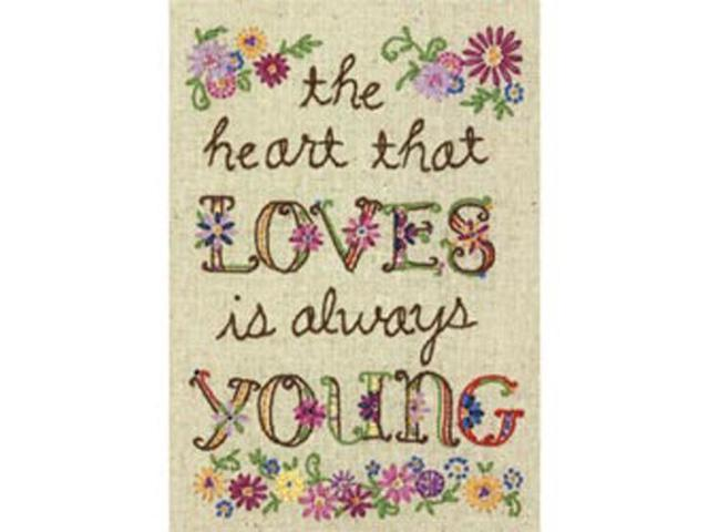 Young At Heart Mini Embroidery Kit-5
