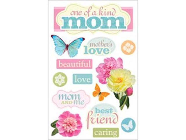 Paper House 3-D Sticker-Mom