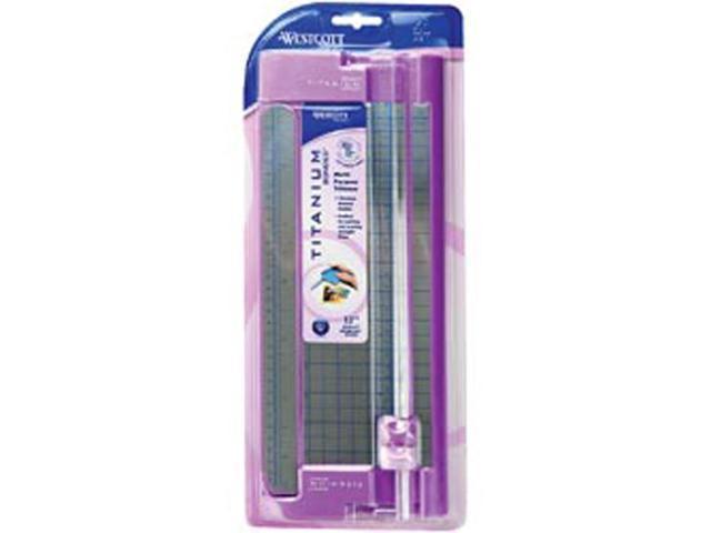 Multi-Purpose Trimmer W/Titanium Blades-Violet