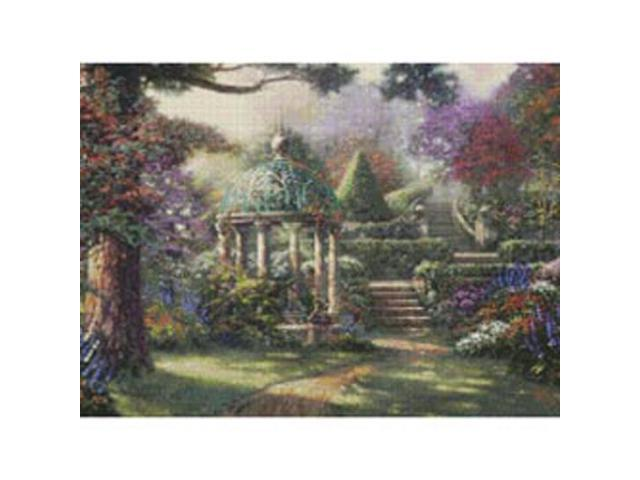 Gazebo Of Prayer Counted Cross Stitch Kit-16