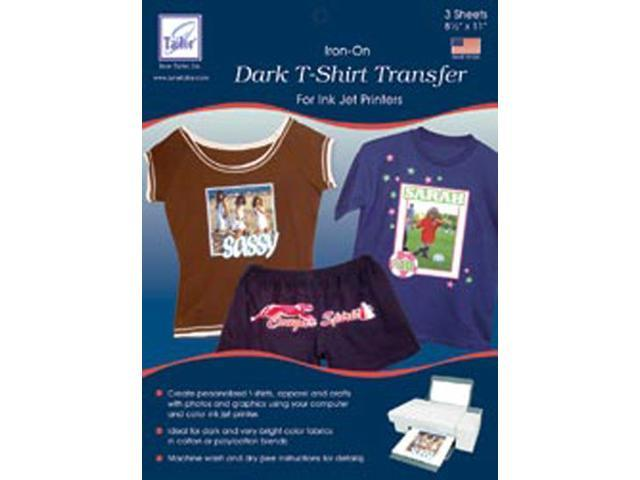Dark T-Shirt Inkjet Transfers-8-1/2