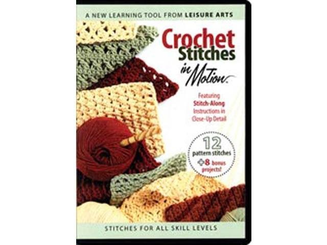 Crochet Stitches In Motion DVD-