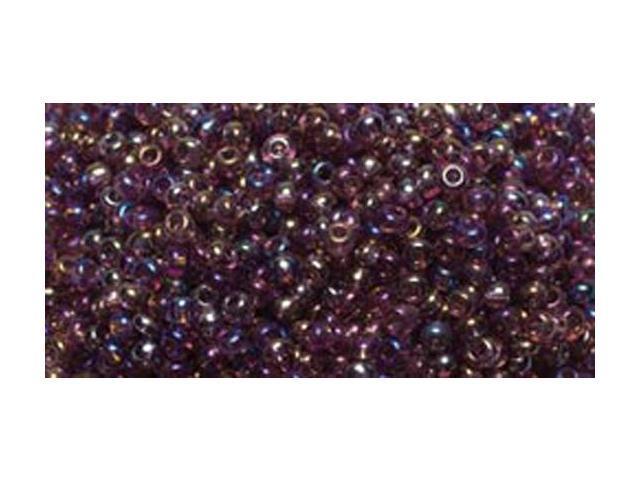 Jewelry Basics Glass Seed Beads 1.1oz-11/0 Purple Rainbow Seed Beads
