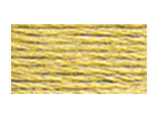 DMC Pearl Cotton Skeins Size 5 - 27.3 Yards-Medium Yellow Beige