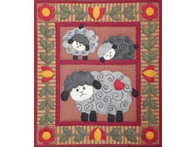 Twin Lambs Quilt Kit-13