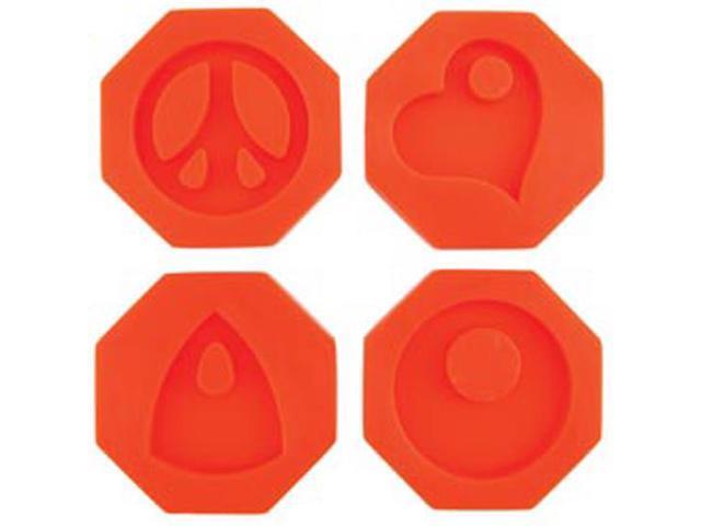 Fuseworks Polar Fuse Glass Casting Molds-Groovy Pendants