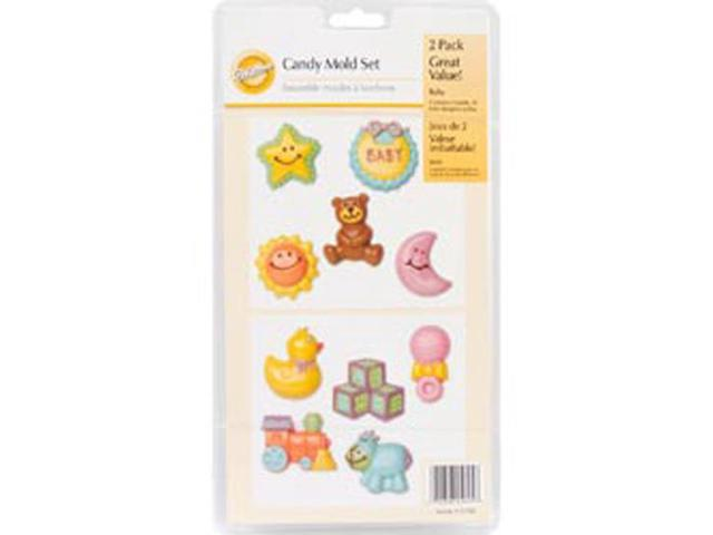 Candy Mold-Baby 2/Pkg