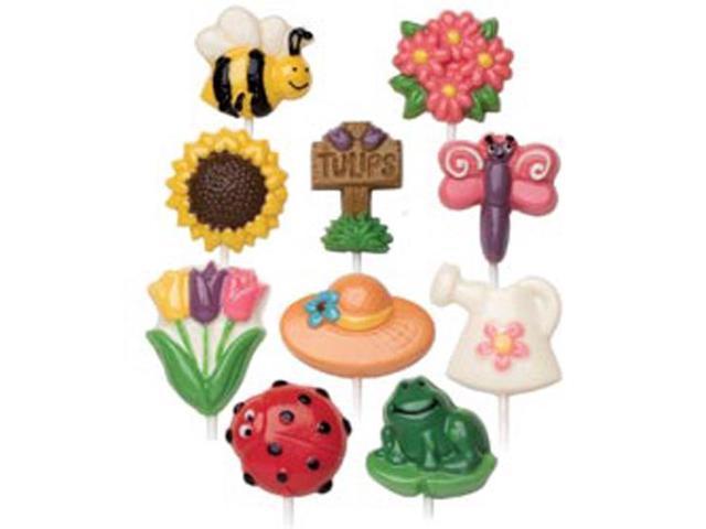 Candy Mold-Bugs & Garden 2/Pkg