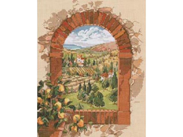 Dreaming Of Tuscany Counted Cross Stitch Kit-11