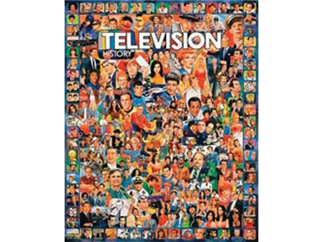 Television 1000 Piece Puzzle by White Mountain Puzzles
