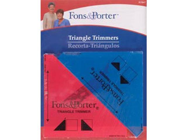 Fons & Porter Triangle Trimmers-1/2