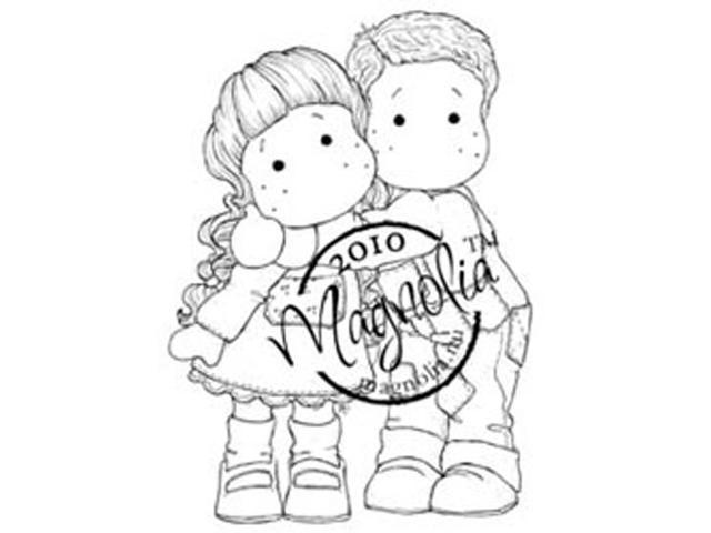 Cozy Family Cling Stamp 6.5
