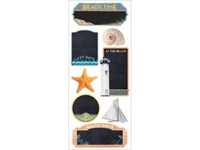 Paper House Chalkboard Stickers-Beach