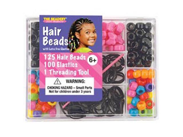 Small Hair Bead Box Kit-Circus