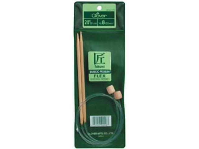 Bamboo Flexible Knitting Needles 20
