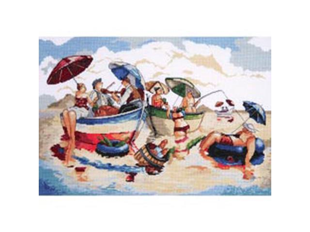 Water Lunch Counted Cross Stitch Kit-14