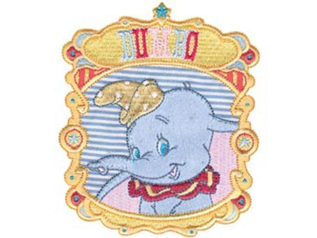 Disney Dumbo Portrait Iron-On Applique-