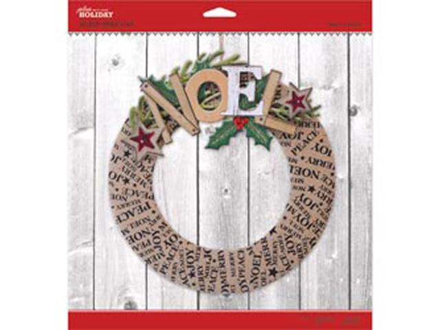 Jolee's Christmas Wreath Kit-