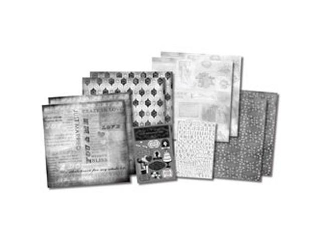 Our Wedding Story Scrapbook Page Kit 12