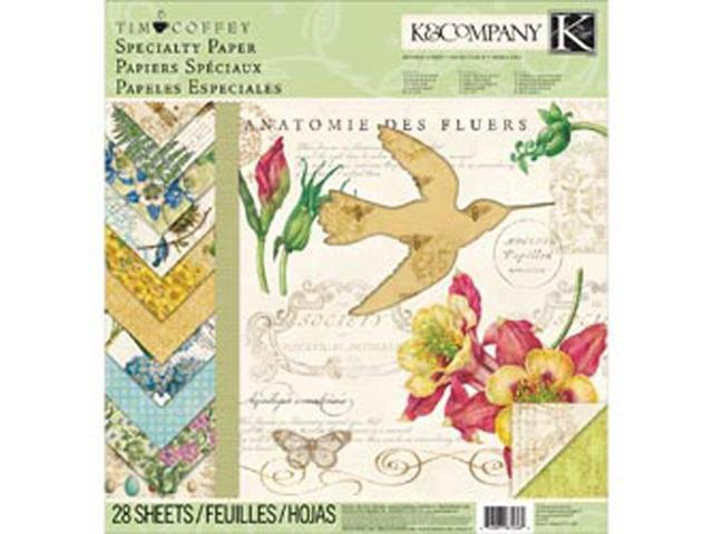 Foliage Specialty Paper Pad 12