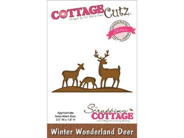 CottageCutz Elites Die-Winter Wonderland Deer