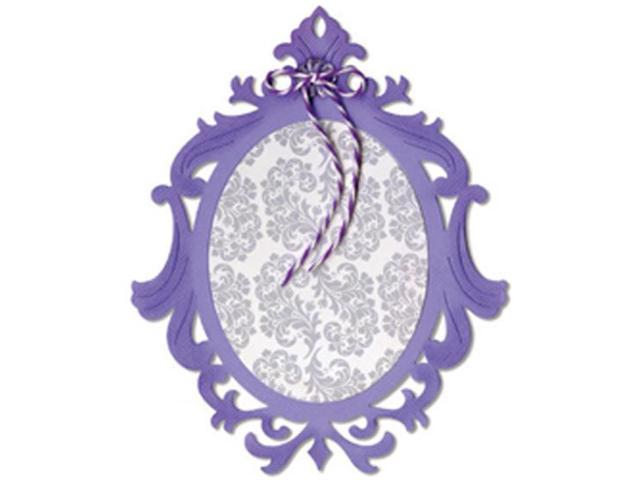 Sizzix Thinlits Die-Ornate Oval Frame