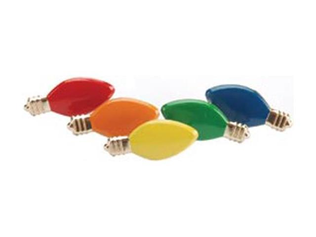 Eyelet Outlet Brads-Holiday Light 12/Pkg