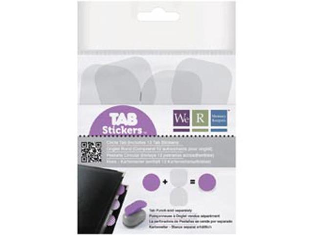 Tab Stickers-Circle