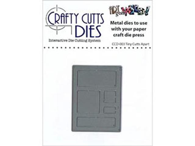 Crafty Cuts Metal Die-Tiny Cutts Apart