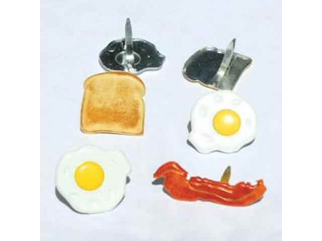 Eyelet Outlet Shape Brads-Breakfast