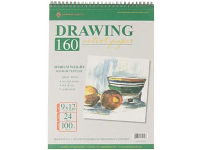 Drawing Pad 100# 24 Sheets/Pkg-9