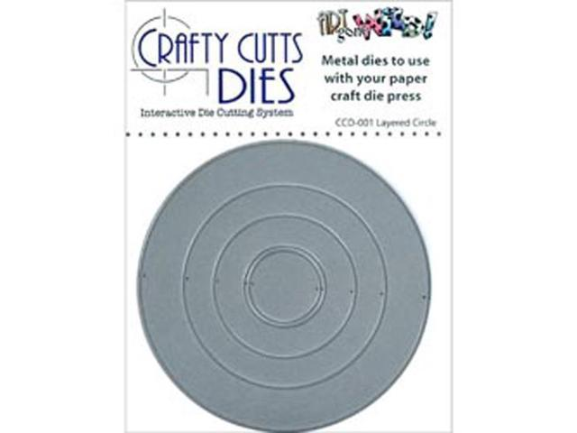 Crafty Cuts Metal Die-Layered Circle