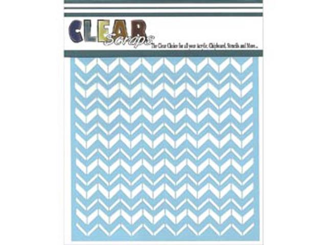 Clear Scraps Stencils 6
