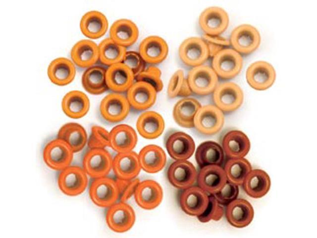 Eyelets Standard 60/Pkg-Orange