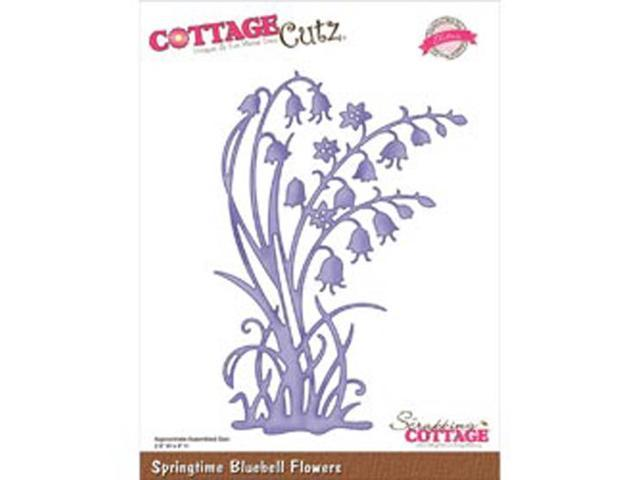 CottageCutz Elites Die-Springtime Bluebell Flowers
