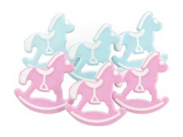 Eyelet Outlet Brads-Rocking Horse 12/Pkg