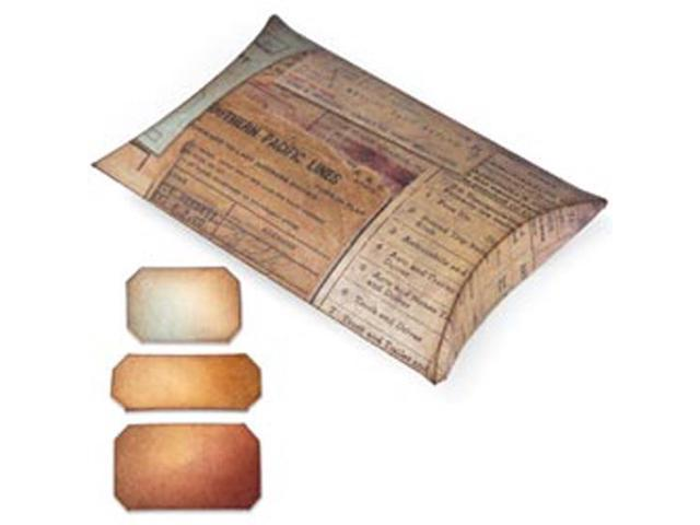 Sizzix Movers & Shapers Large Base Die By Tim Holtz-Pillow Box With Labels