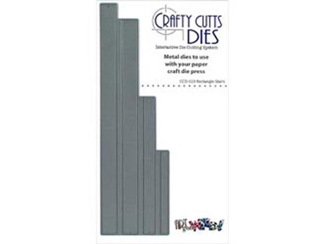 Crafty Cuts Metal Die-Rectangle Stairs