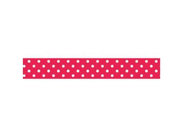 Washi Tape 15mm 12 Yards/Roll-Ladybug Swiss Dot