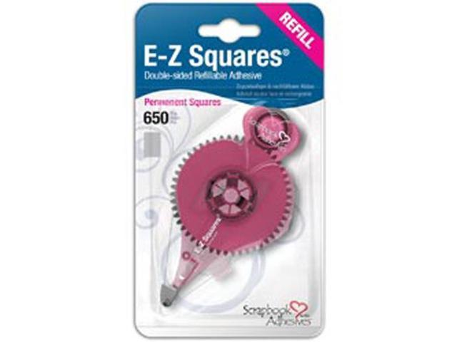 EZ Squares Refill 650/Pkg-Permanent