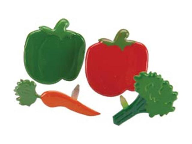 Eyelet Outlet Brads-Vegetable 12/Pkg