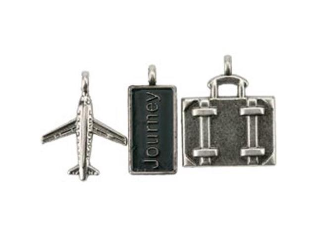 Travel Metal Charms 1