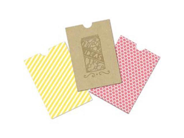 Handmade Mini Printed Bags 9/Pkg-