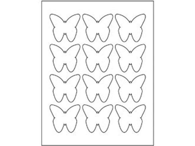 Kraft DIY Stickers 8.5