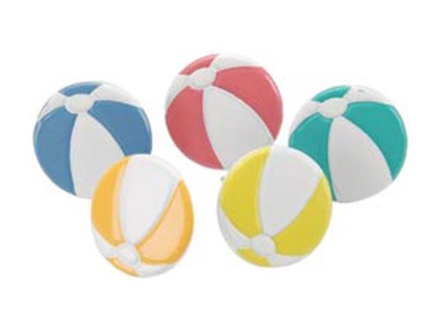 Eyelet Outlet Brads-Beach Ball 12/Pkg