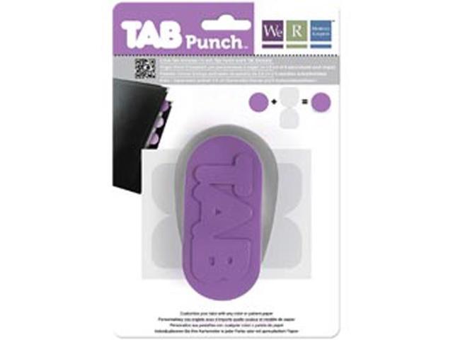 Tab Punch-Circle; 1.5