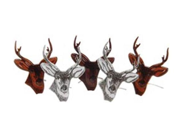 Eyelet Outlet Brads-Deer Head 12/Pkg