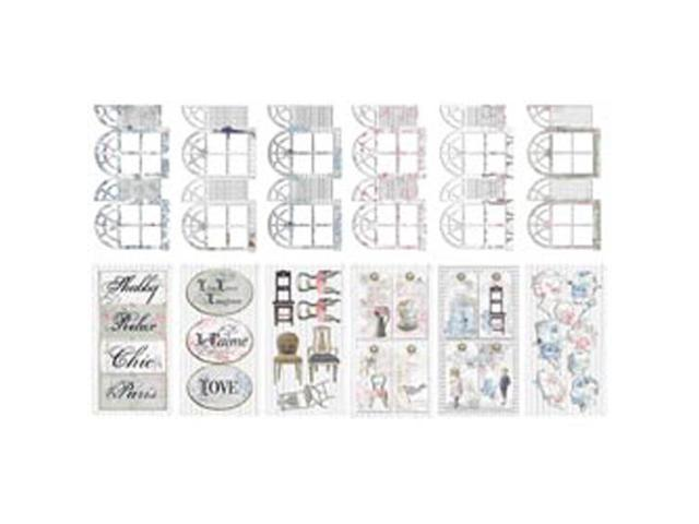 Shabbylicious Journal Pre-Cuts Packets; Each W/12 Designs-5 Packets Per Box