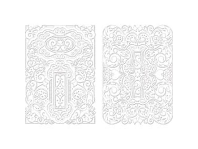 Spellbinders M-Bossabilities A4 Card Embossing Folder-Decorative Fancy Tags 2