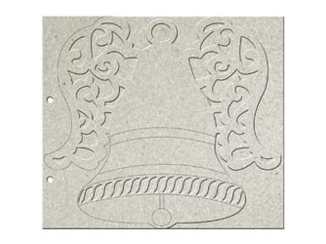 Angelic Christmas Die-Cut Grey Chipboard Album 9